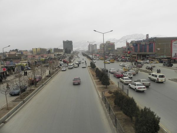 Darulaman Road is where many young Afghan men and women learn to drive in the nation's capital.