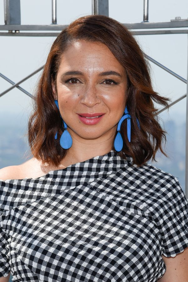 """While promoting""""The Angry Birds Movie"""" in 2016, Maya Rudolph talked about parenting in general and breastfeeding in par"""