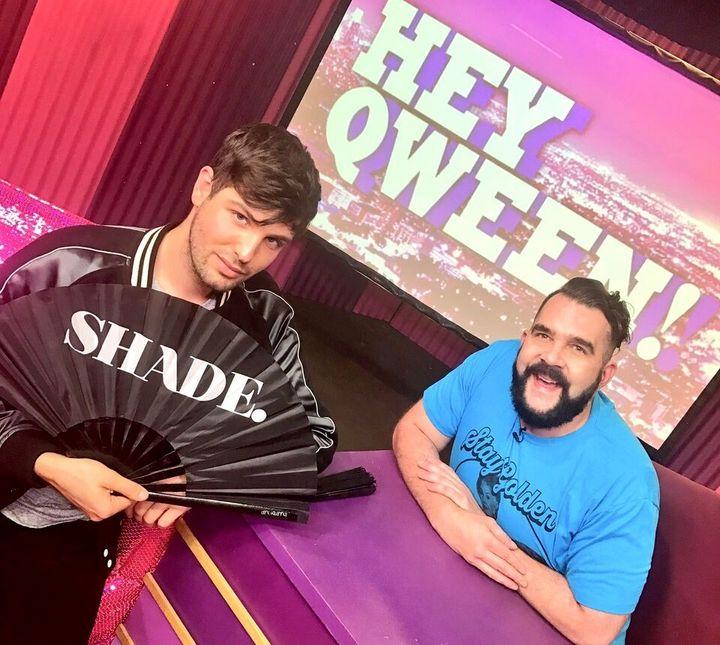Daniel Preda and Jonny McGovern on Hey Qween!