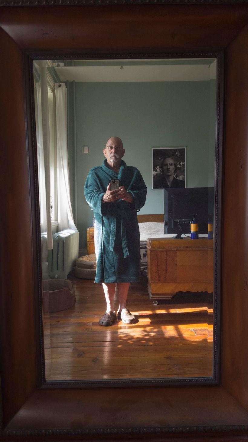 Michael Northrup, 9:00 hour, self-portrait