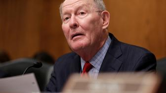 Chairman of the Senate Health, Education, Labor and Pensions Committee Lamar Alexander speaks during Rep. Tom Price's (R-GA) nomination hearing to be Health and Human Services secretary in Washington, U.S., January 18, 2017. REUTERS/Joshua Roberts