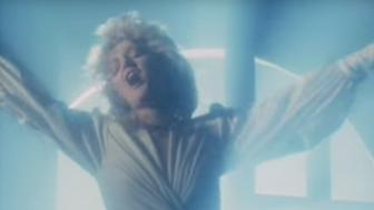 Bonnie Tyler in the video for her 1983 hit Total Eclipse Of The Heart