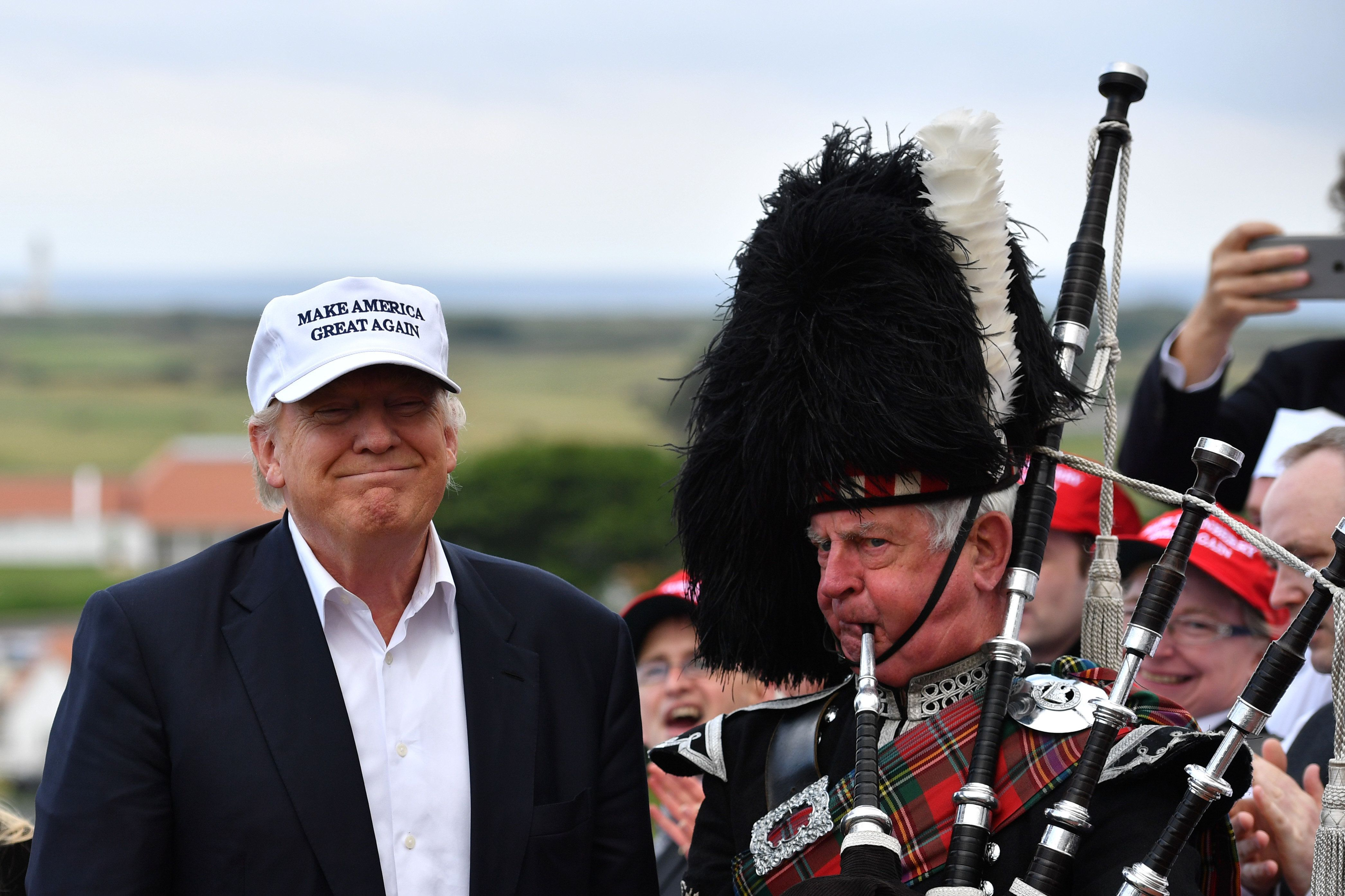 Trump's biggest fear about Scottish independence appears to be about golf