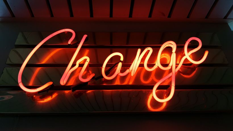 Change can be hard, but positive