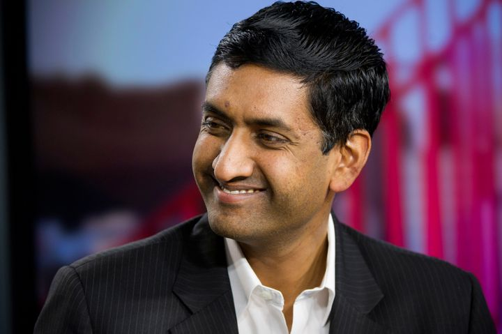 "Rep. Ro Khanna (D-Calif.) recently signed a pledge to ""stand up for Medicare for all"" whenever publicly discussing health car"