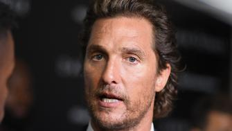 Actor Matthew McConaughey attends the special screening of Columbia Pictures and MRC 'The Dark Tower' at the Museum of Modern Art on July 31, 2017 in New York. / AFP PHOTO / ANGELA WEISS        (Photo credit should read ANGELA WEISS/AFP/Getty Images)