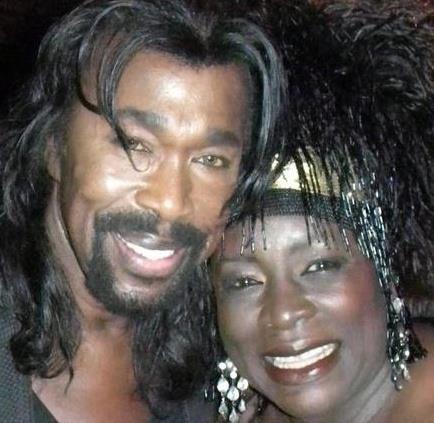 Ebony Jo-Ann with Nick Ashford