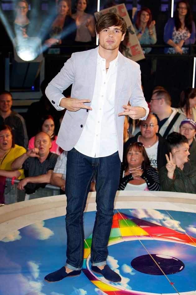Arron appeared on 'Big Brother' in