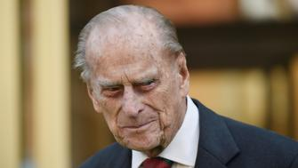 Britain's Prince Philip, the Duke of Edinburgh leaves the National Army Museum in London, Britain March 16, 2017. REUTERS/Hannah McKay