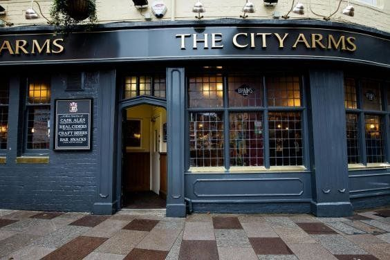 The mix-up occurred at the City Arms, which has a no fancy dress, no stag dos policy