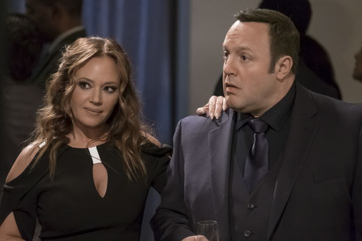 """Last season, Kevin James and Leah Remini reunited on """"Kevin Can Wait."""""""
