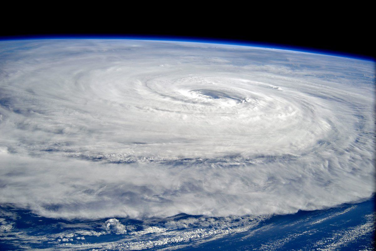 This Is What The Most Powerful Storm On Earth Looks Like From Space
