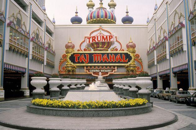 The Trump Taj Mahal, pictured in
