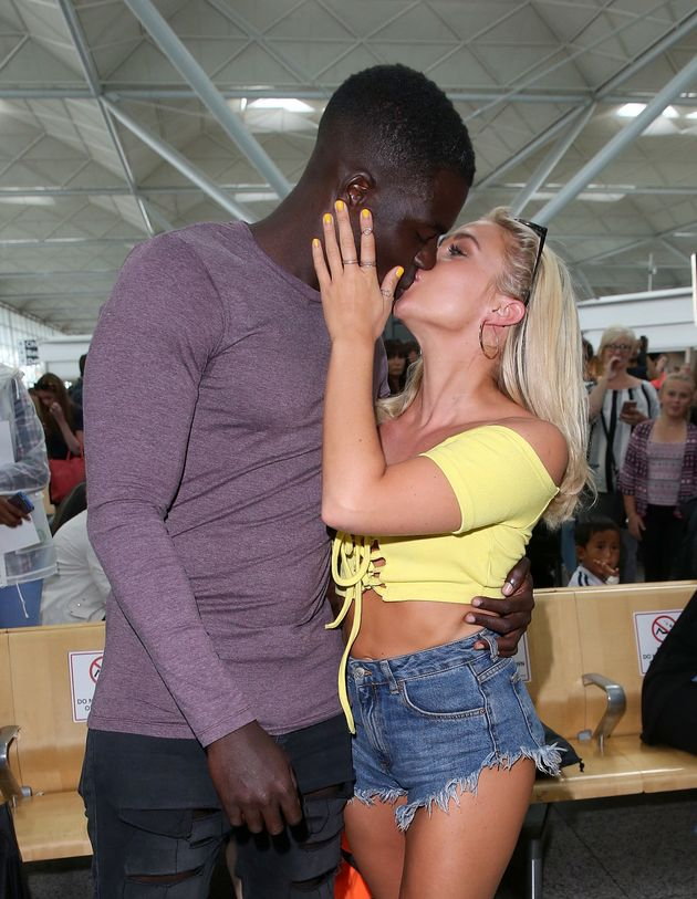 Gabby and Marcel have received racist abuse