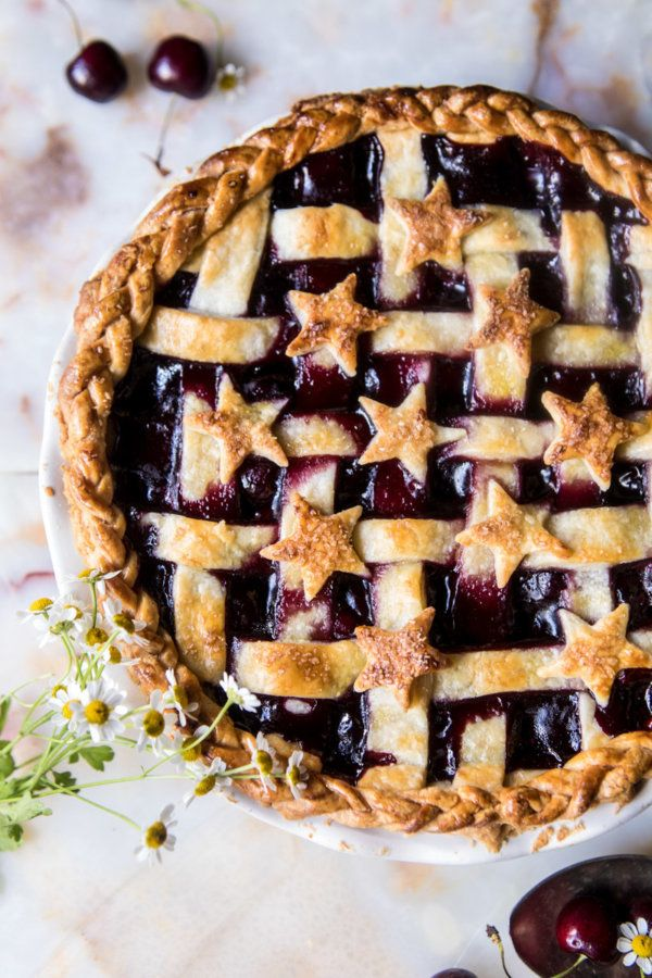 "<strong>Get the <a href=""https://www.halfbakedharvest.com/mulled-cherry-bomb-pie/"" target=""_blank"">Mulled Cherry Bomb Pie rec"