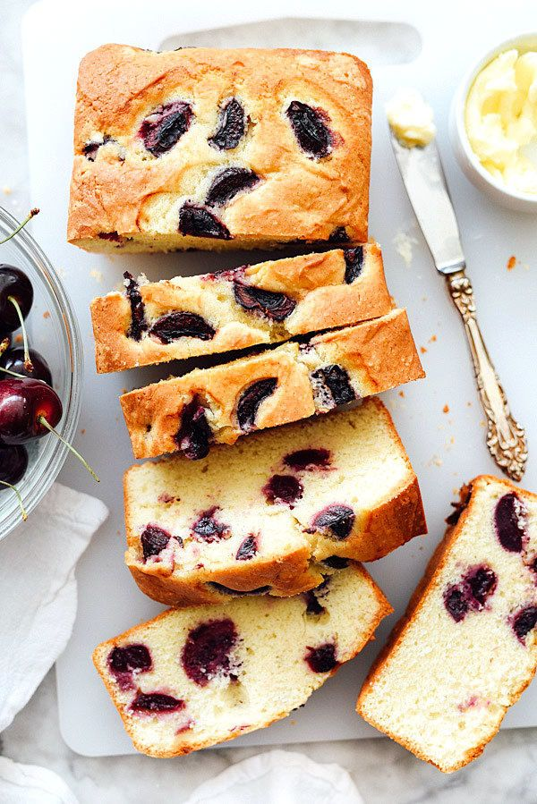"<strong>Get the <a href=""http://www.foodiecrush.com/cherry-almond-quick-bread/"" target=""_blank"">Cherry and Almond Quick Bread"