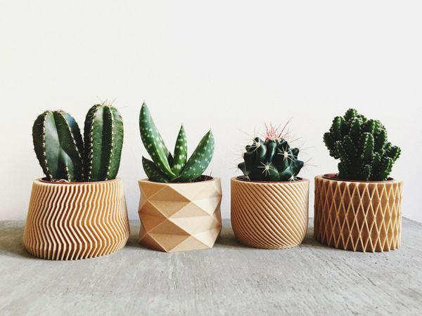 "Because you can never have too many succulents, right? <a href=""https://www.etsy.com/listing/500813884/set-of-4-pots-planters"