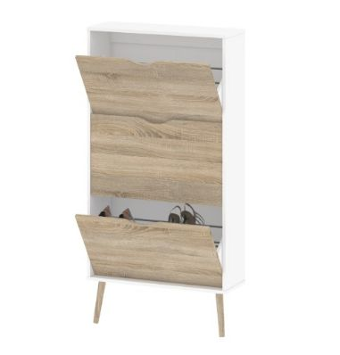 "Give your shoes a stylish home. <a href=""https://jet.com/product/Tvilum-Diana-3-Drawer-Shoe-Cabinet/633069c1592b485eb2a9ed139"