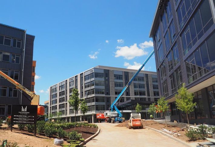 <em>Cafritz' Foundation's Modern at Art Place, D.C.'s second-largest apartment delivery this year</em>