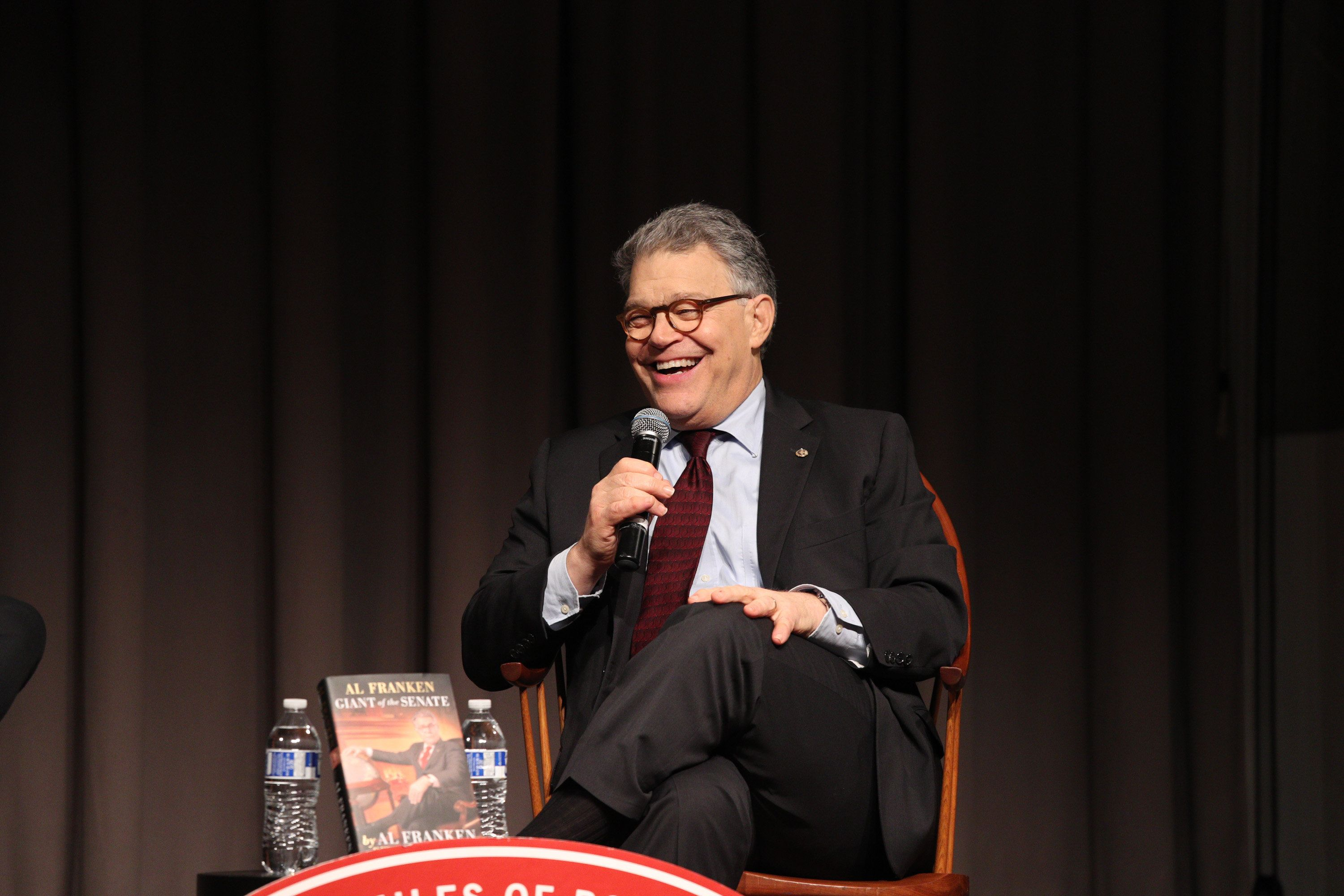 Al Franken: 'I make fun of the people who deserved it'