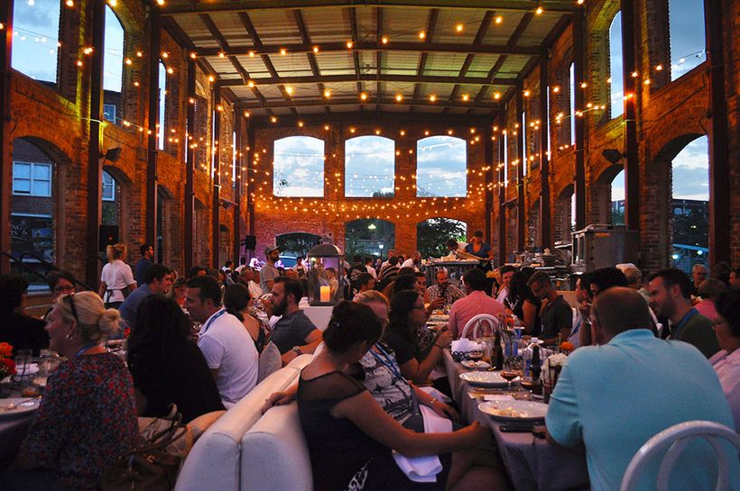 Euphoria Greenville closes with Sunday Supper in the beautiful Wyche Pavilion.