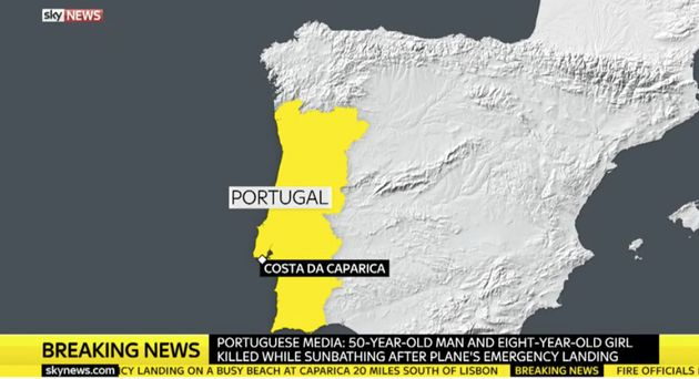 Plane Crash Near Lisbon, Portugal, Kills Two