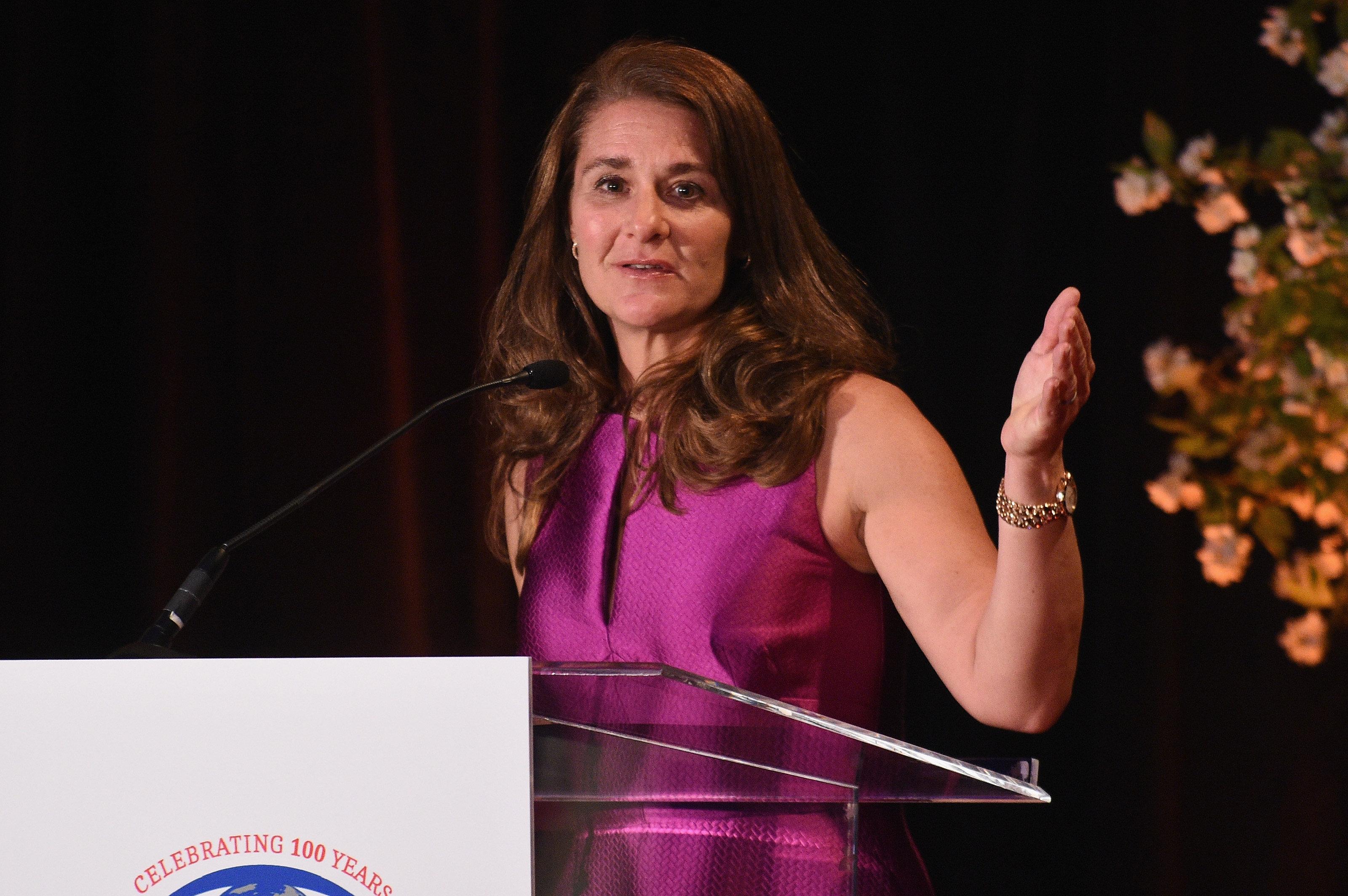 Melinda Gates wrote about breastfeeding fro Refinery29 in honor of World Breastfeeding Week.