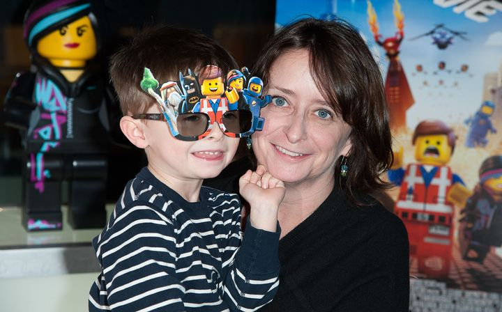Rachel Dratch often tweets about raising her son, Eli.