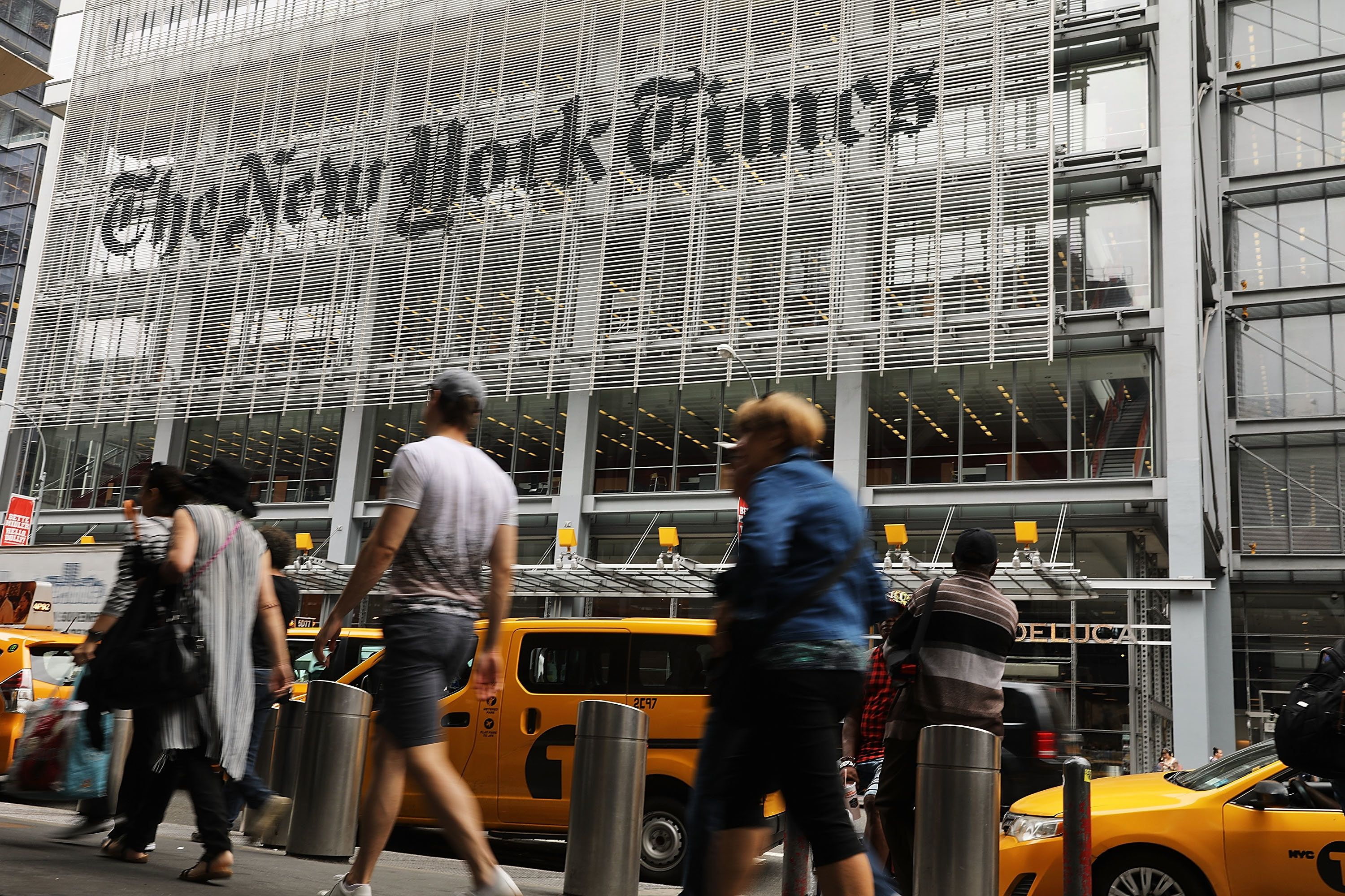 The New York Times staff has been in turmoil since a recent round of buyouts and other changes.