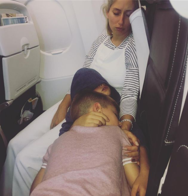Stacey Solomon Shares Struggle Of Flying With Two Kids, Praises Single Parents For Doing It