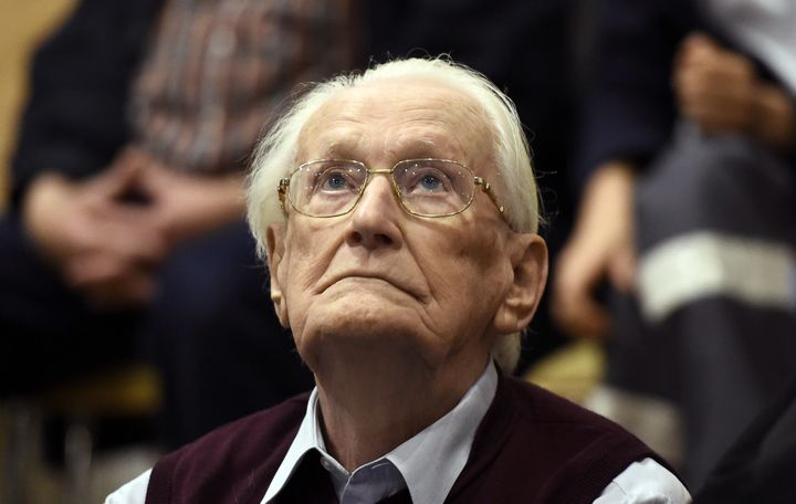 Former Nazi SS officer Oskar Groening, pictured here in 2015, has been deemed medically fit to serve jail time, said German p
