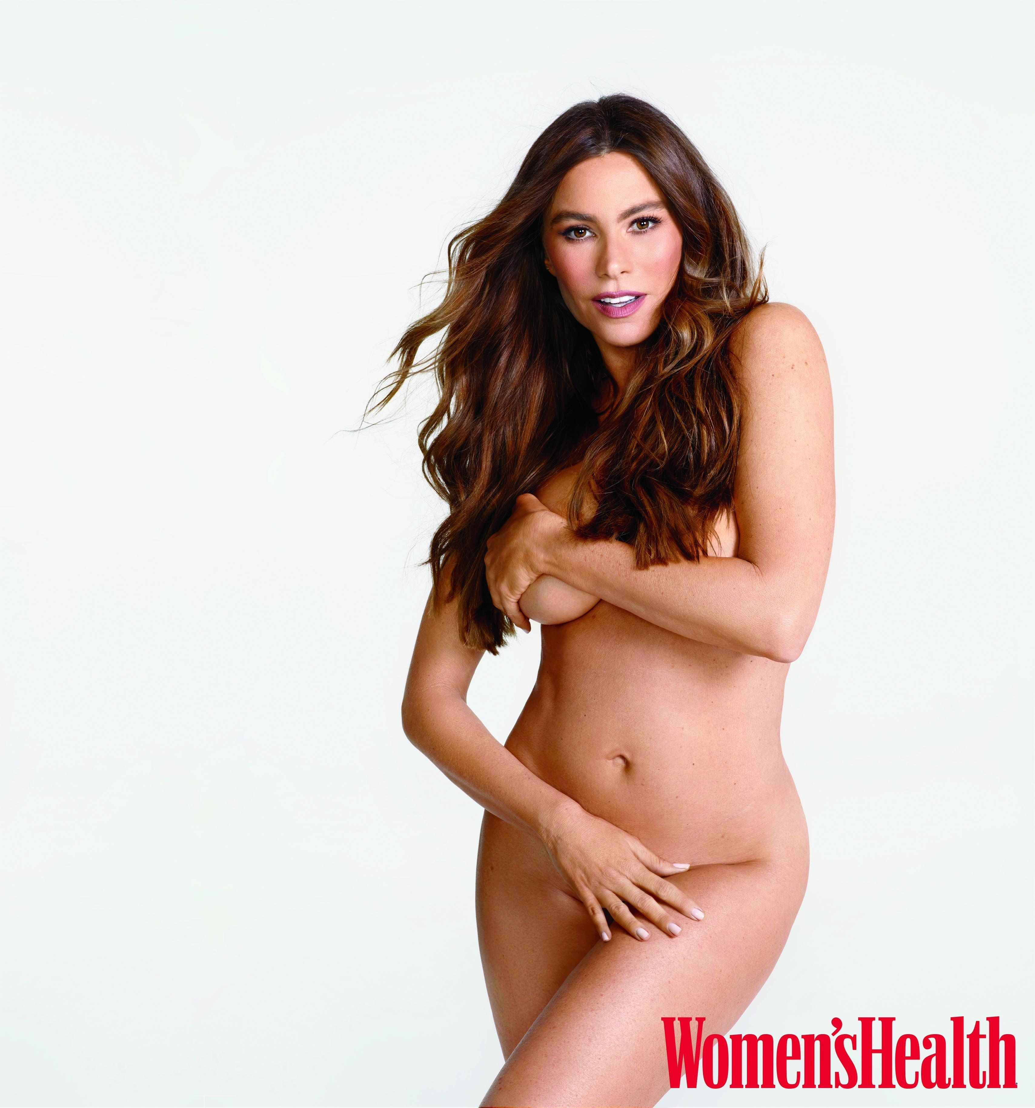 Sofia Vergara Naked Fake Best vergara can't do pushups because of her 'gigantic boobs'