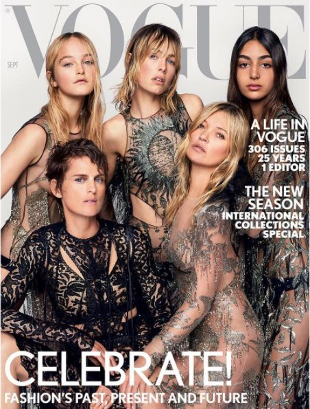The Last Issue Of British Vogue By Alexandra Schulman Has Been