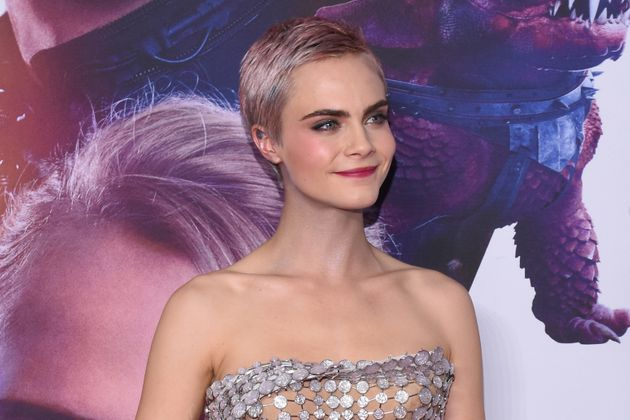 Cara Delevingne onthe red carpet of Valerian and the City of a Thousand Planets Mexico City film...