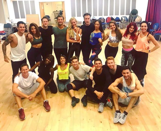 The 'Strictly' pros will perform a special routine in Bruce's