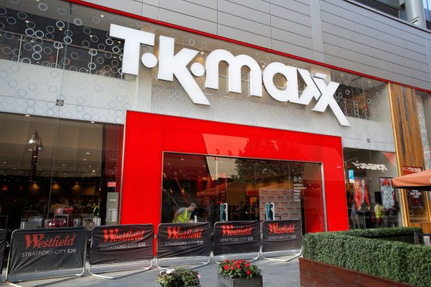 Atmosphere before Sarah-Jane Crawford officially opens the new TK Maxx at Westfield Stratford City on...