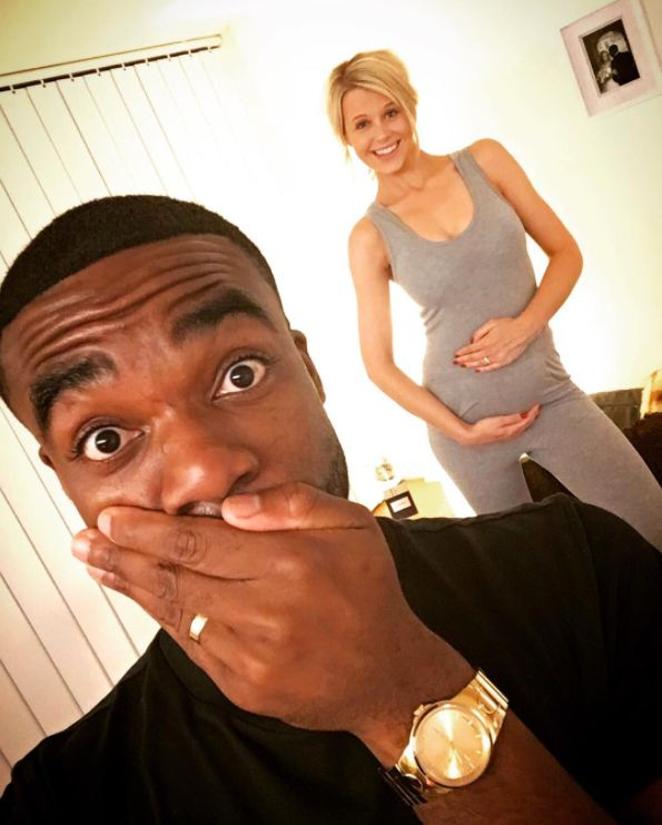 Ore Oduba Is Set To Become A Dad For The First