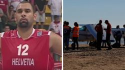 Hero Basketball Player Restrained Angry Beachgoers Who Branded Crash Pilot A 'Killer' After Sunbather