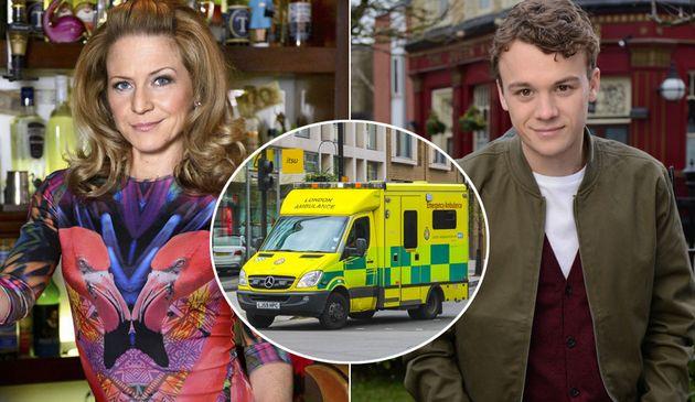 'EastEnders' Spoilers: Soap 'Rewrites Carter Stunt Scenes' After Ambulance Filming