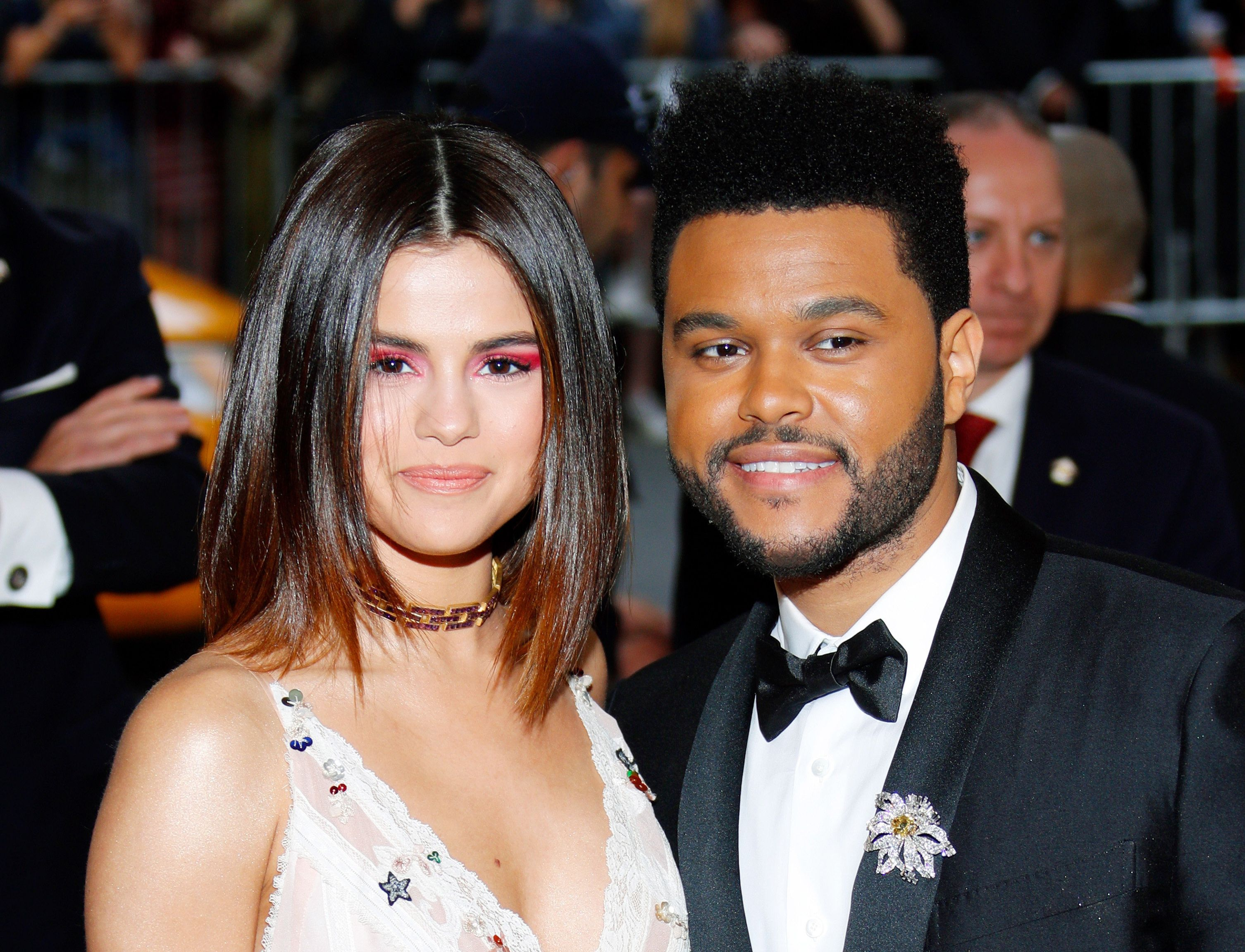 Selena Gomez and The Weeknd attend the Met Gala together.