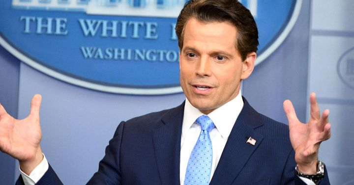 What's next from the Mooch is anyone's guess but if there was anyone who should have never quit his day job - that would be h
