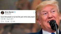 The Internet Is Having A Dairy Good Time With Trump's 'Local Milk