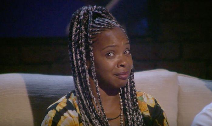Sandi Bogle's Face Says It All As Celebrity Big Brother's Derek Acorah 'Summons