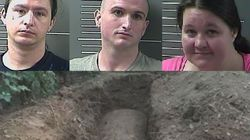 Grandson, Friends Charged With Digging Up Grandmother's