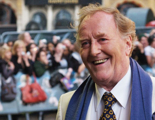 Robert Hardy at the premiere of