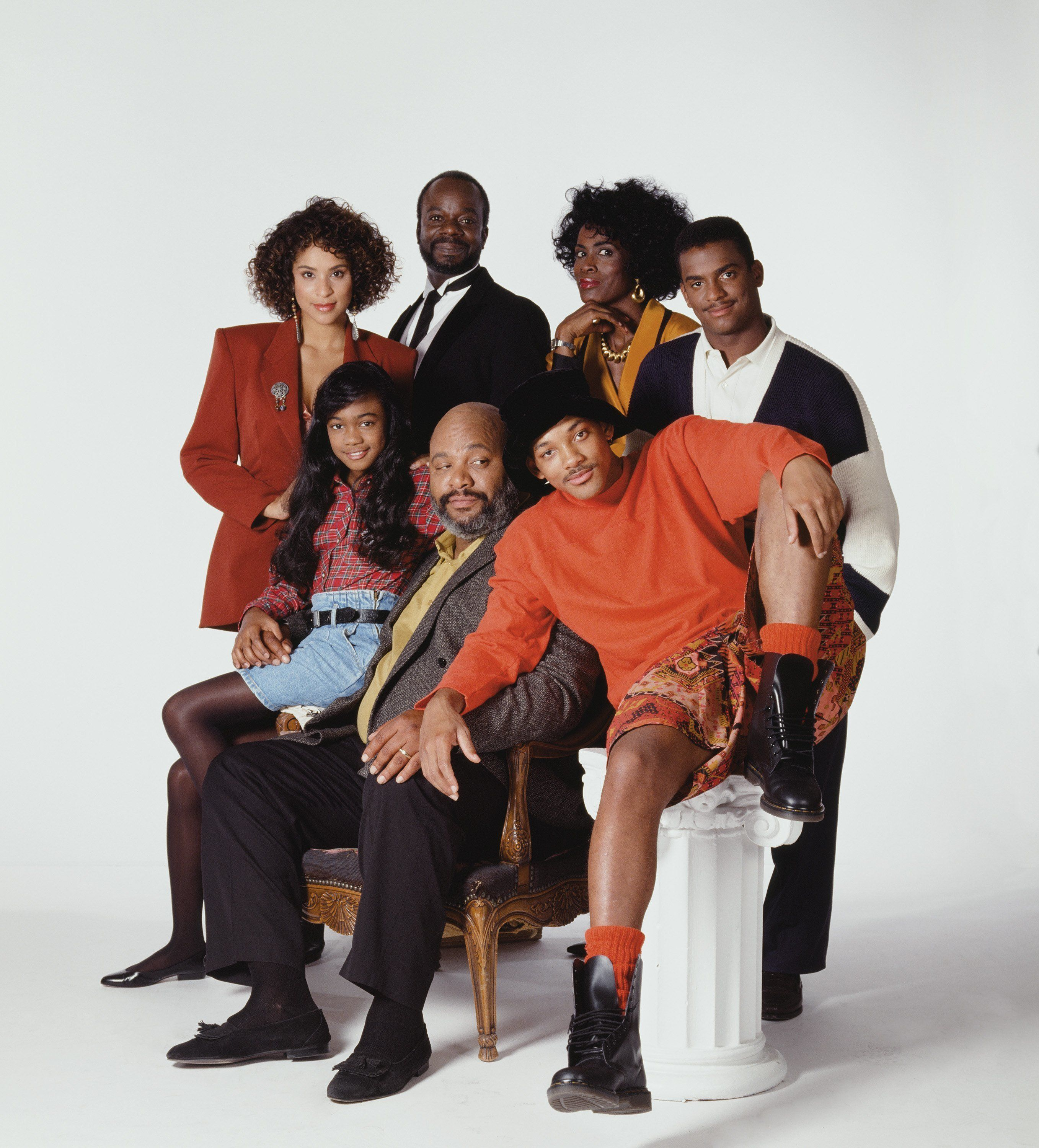 "The cast of ""The Fresh Prince of Bel-Air."""