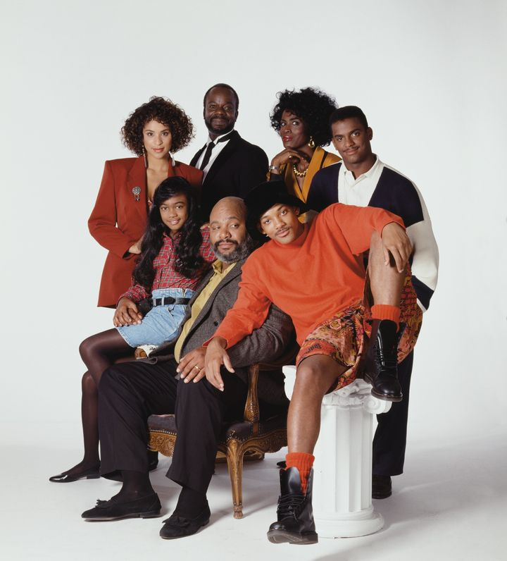 """The cast of """"The Fresh Prince of Bel-Air."""""""