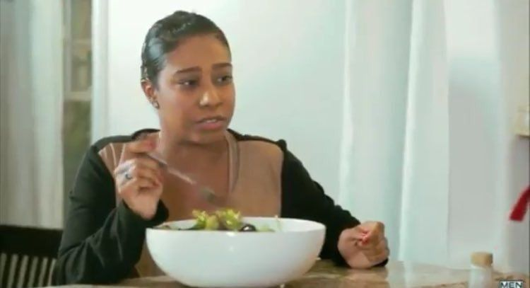Right in front of my salad porn video