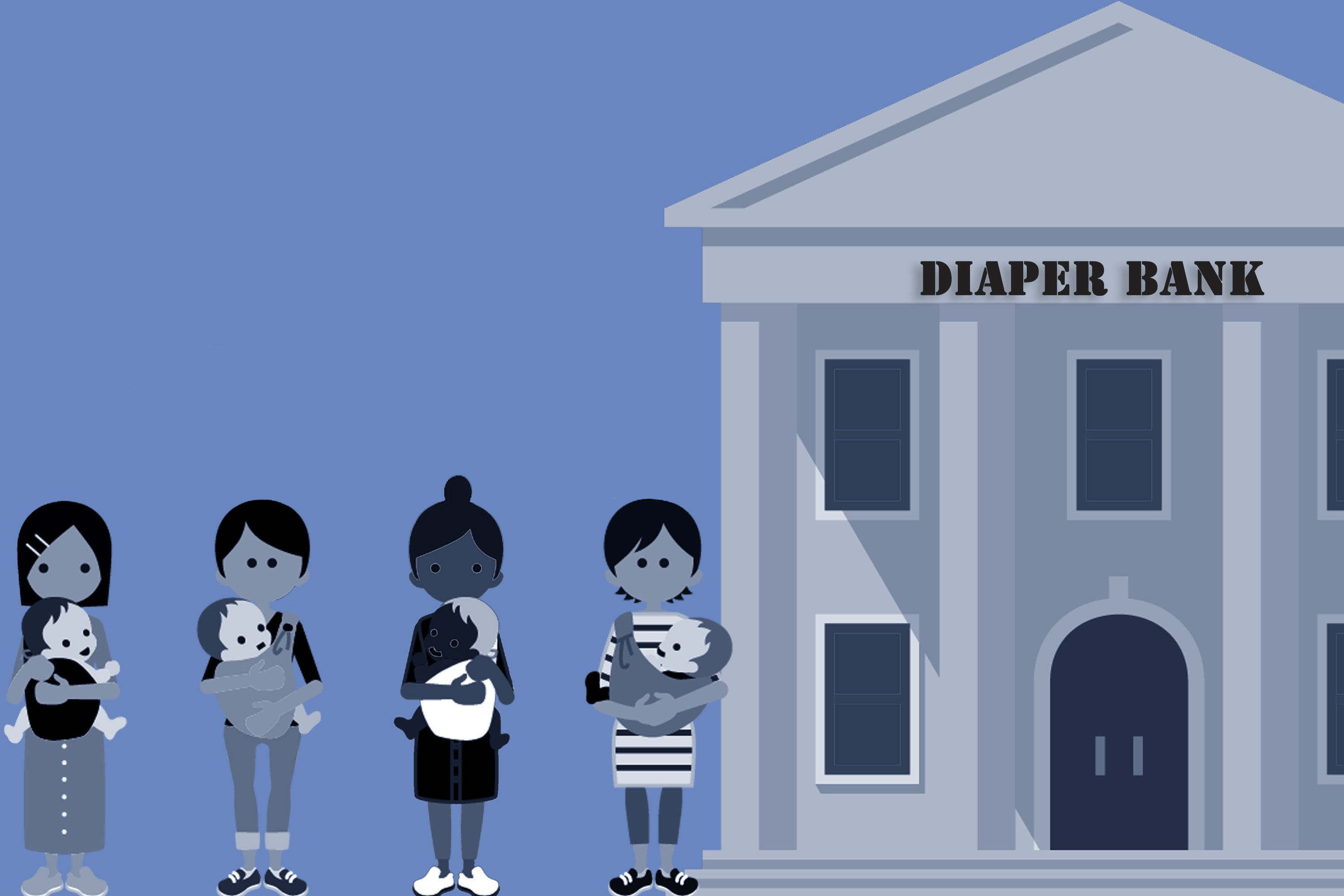 Bad Jobs And No Welfare Give Rise To A New Type Of Charity: The Diaper
