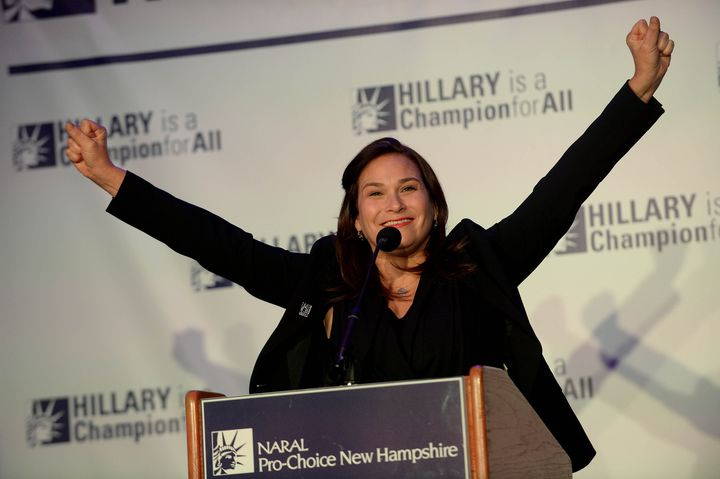 Ilyse Hogue, president of NARAL Pro-Choice America, and other abortion rights advocates have sharply criticzed the Democratic